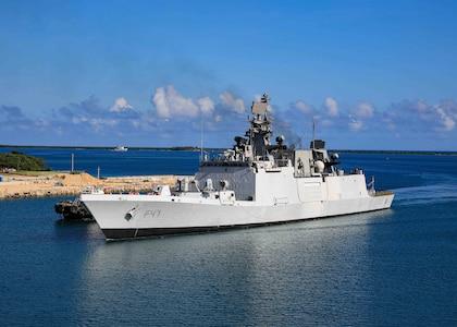 Indian, U.S. navies strengthen partnership, joint capabilities