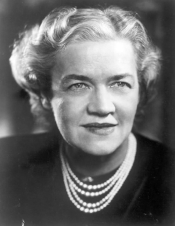This is a courtesy photo from the U.S. Senate historical Office of the late Margaret Chase Smith.