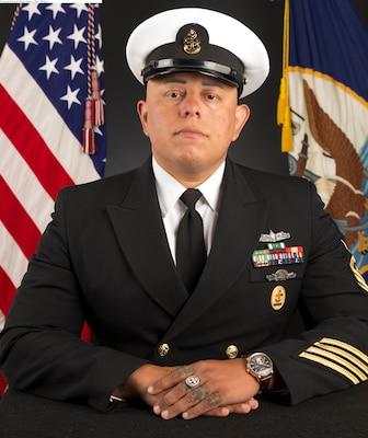 "Command Senior Chief Andres ""Dre"" Mejia"