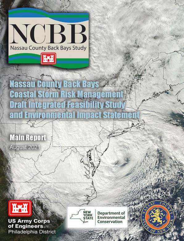 Image of report cover shows satellite image of Hurricane Sandy