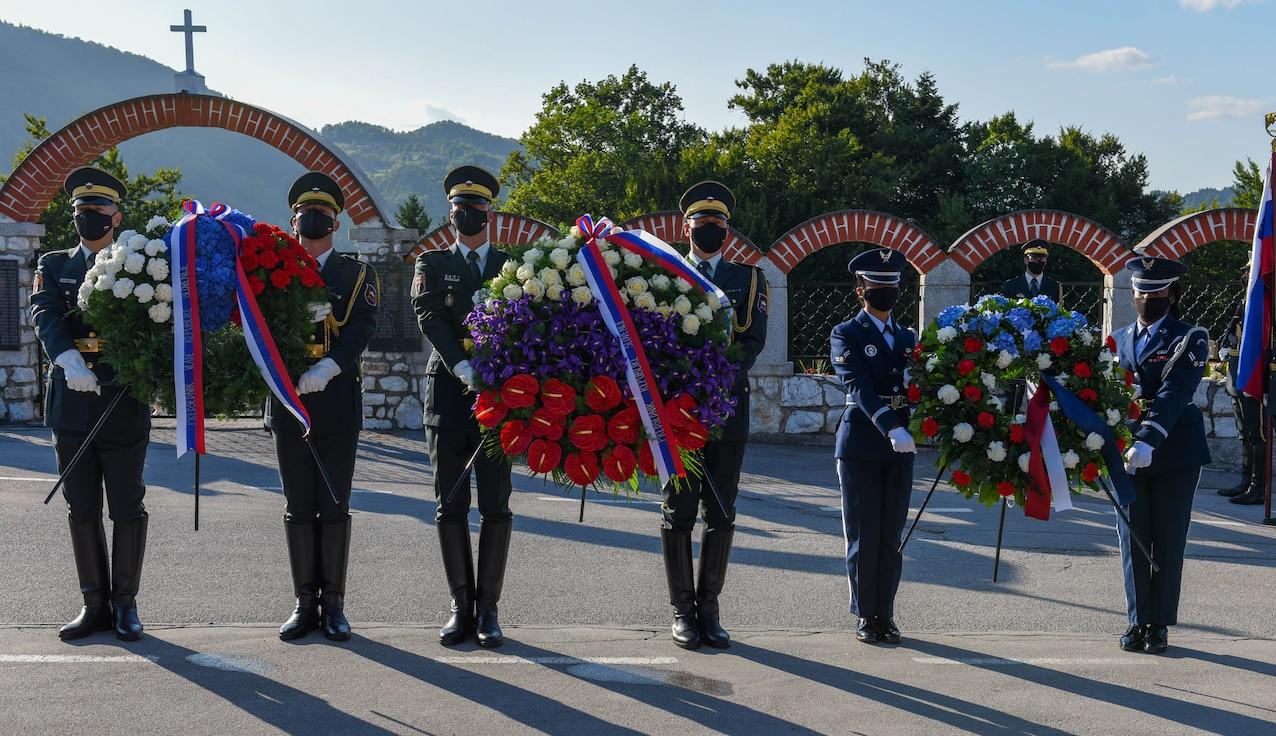 31 FW leadership attends Andraz memorial