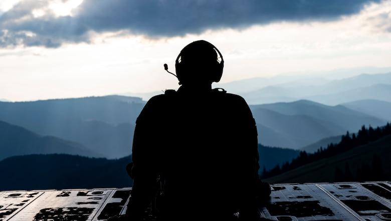 MC-130J Commando II Low Level Flight over Ukraine and the Black Sea