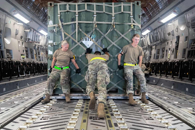 Afghanistan airlift operations