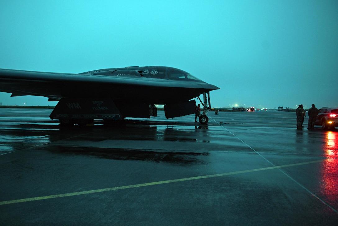 B-2 Spirit Arrives at Keflavik Air Base, Iceland