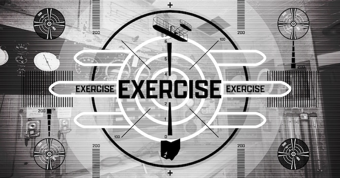 WPAFB Exercise Graphic