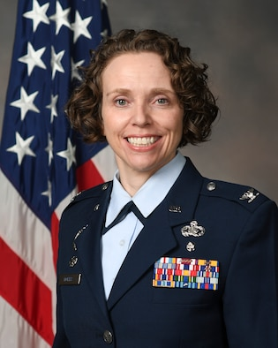 Col. Sirena Morris, 88th Mission Support Group commander