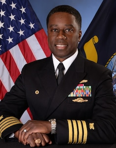 Captain Milton W. Troy, III, Chief of Staff Naval Sea Systems Command