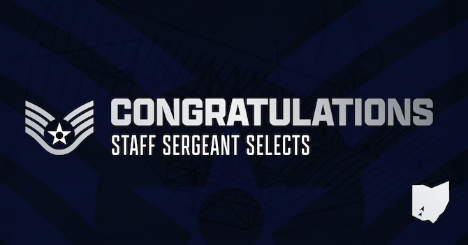 The Air Force announced its newest staff sergeant selects Aug. 24 — and the list includes nearly 150 names from Wright-Patterson Air Force Base.