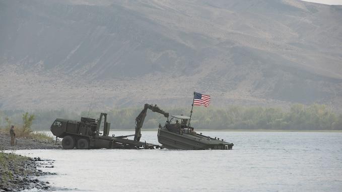 Combined military effort at Yakima Strike