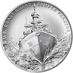 U.S. Mint commemorates Coast Guard with silver medal
