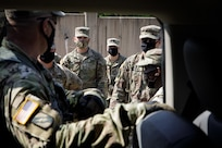 447th MP Co. Conduct Vehicle and Personnel Search Training
