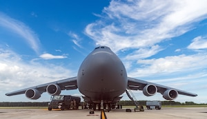Dover AFB C-5Ms provide rapid global mobility