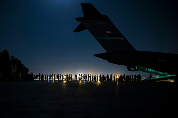 Air Force Reserve supports massive Afghanistan evacuation operation