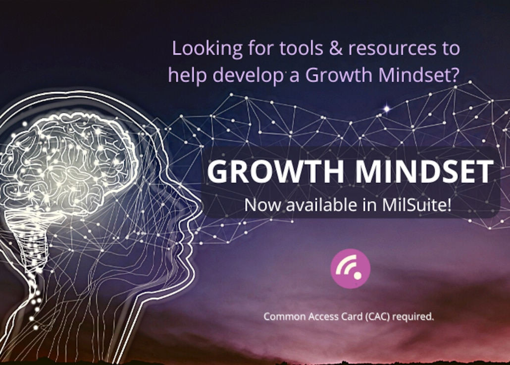 Growth Mindset Now Available in MilSuite