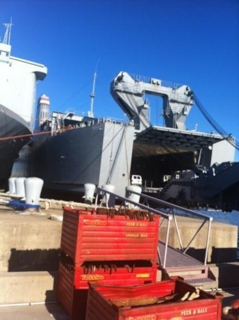 DTRA outfitted a ship to transfer and destroy Syria's chemical weapons stockpile.