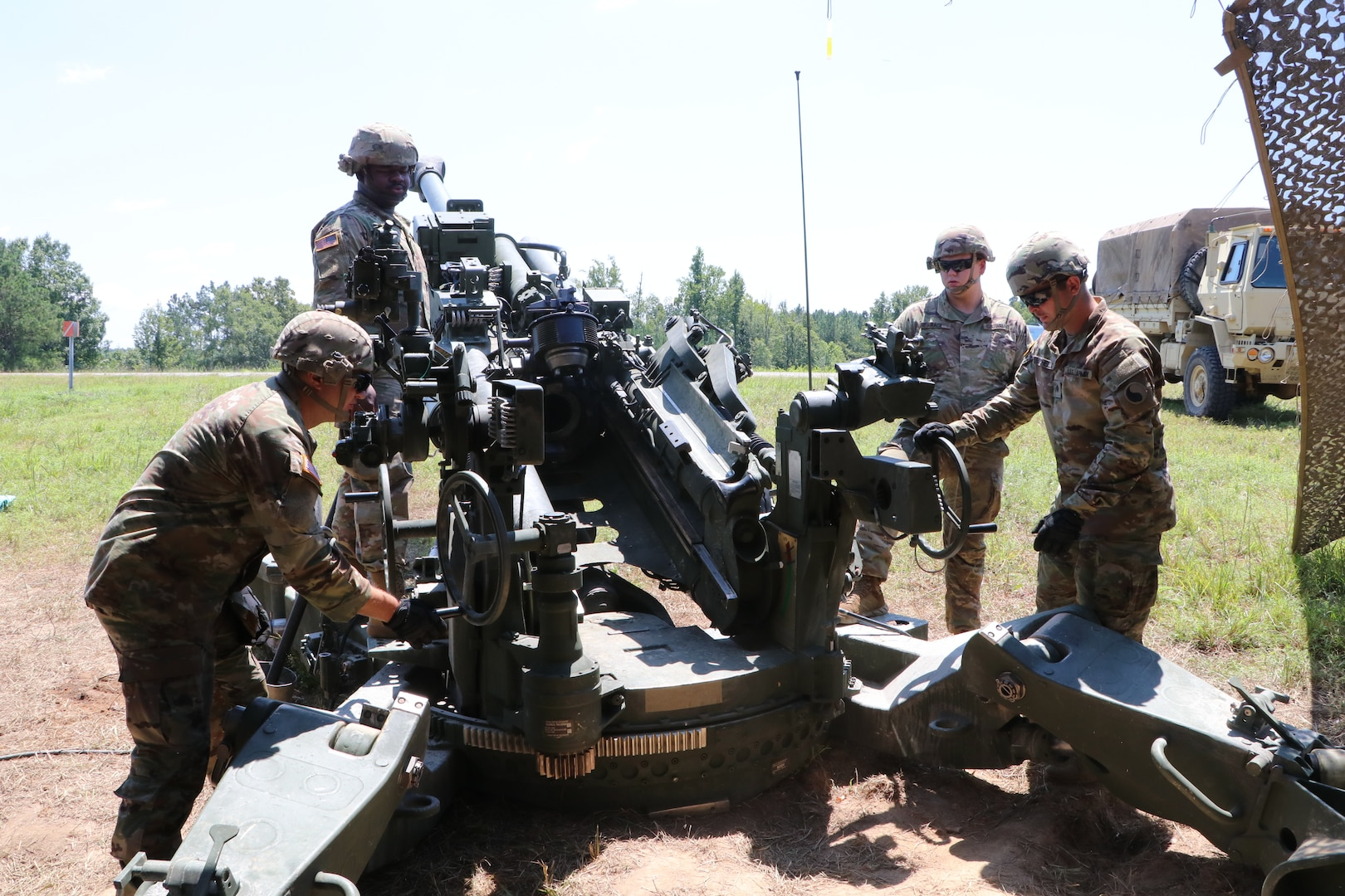 1-111th FA conducts exercise during annual training
