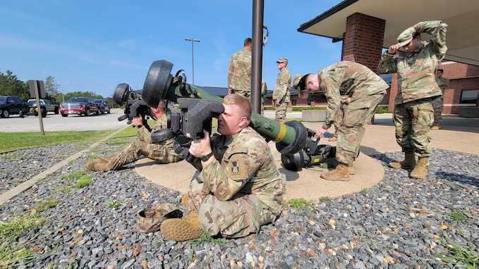 Unit transformation requires Javelin Weapon System training