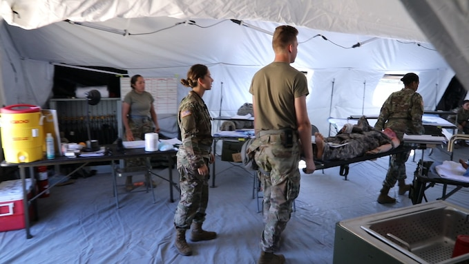 Global Medic tests new field hospital structure