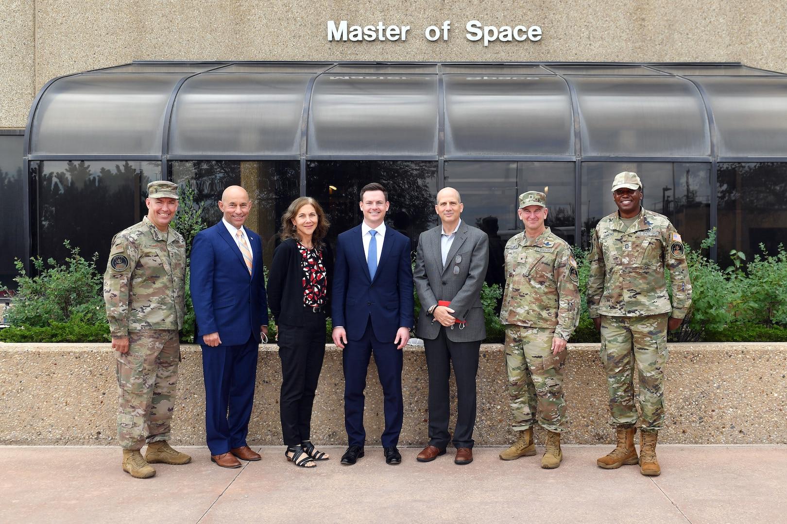 JTF-SD, USSPACECOM leaders host Senate committee representatives