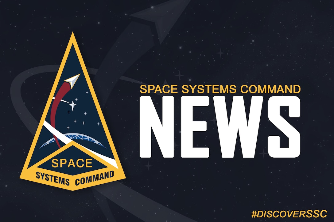 This is a news update from Space Systems Command.