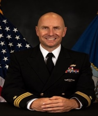 Commander Gabriel D. Burgi