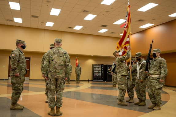 650th Regional Support Group Change of Command
