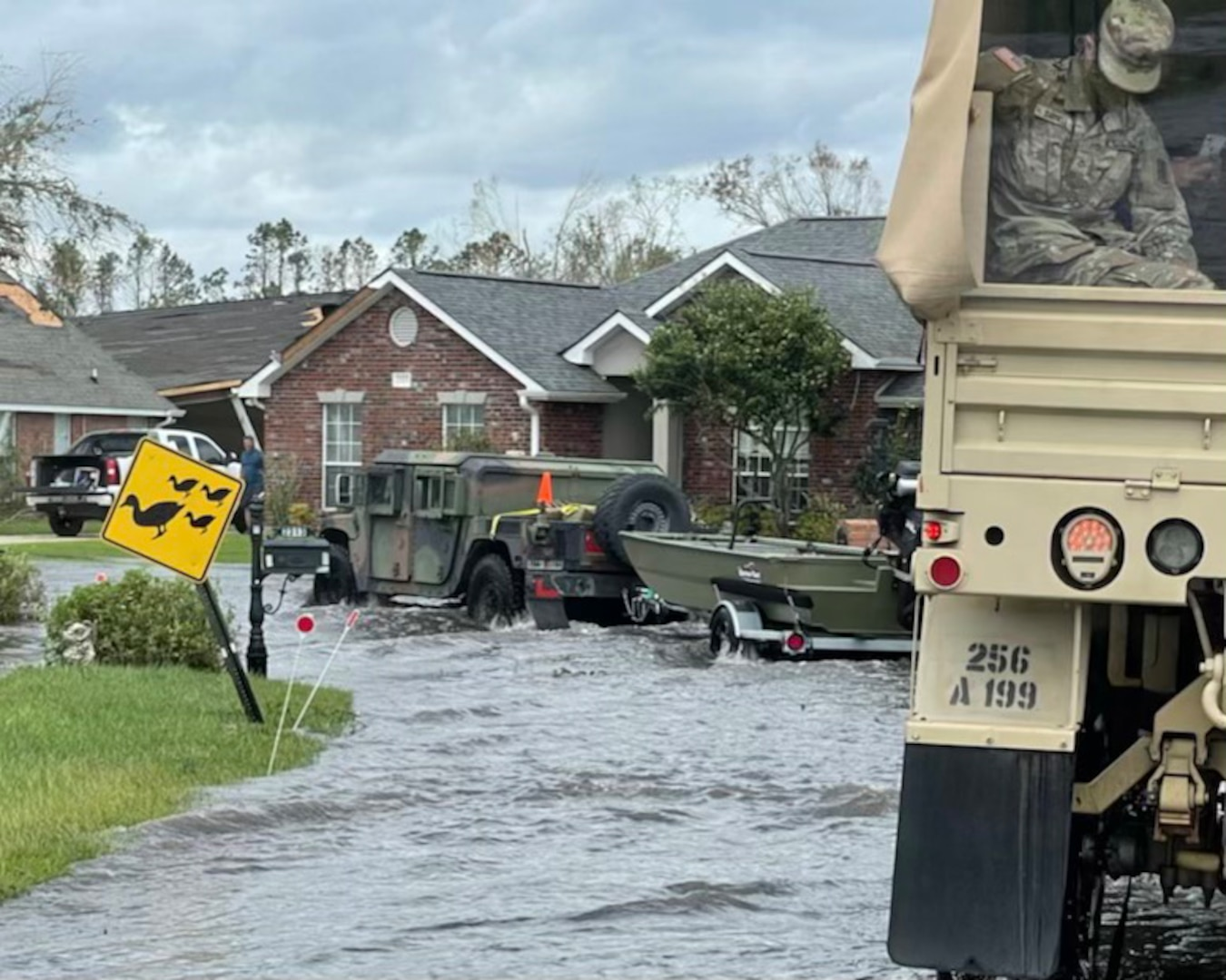 Almost 5,000 members of the Louisiana National Guard are in south Louisiana assisting with relief and recovery efforts in the aftermath of Hurricane Ida.