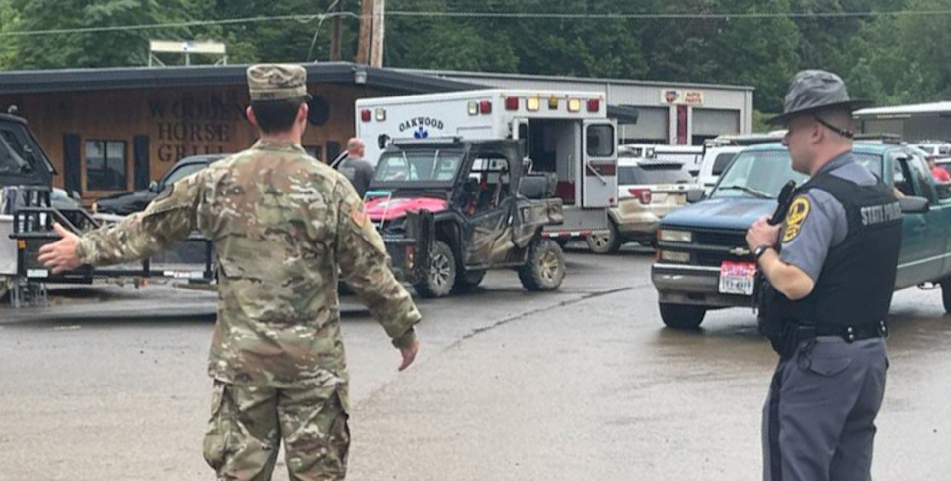 Va. National Guard assisting with flood response in Buchanan County, staging in Fredericksburg and Winchester