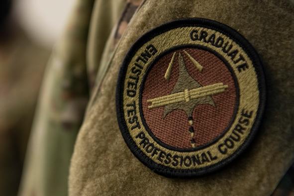 Enlisted Test Professionals Course graduate patch