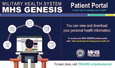 Military Health System MHS - Patient Portal: A new way to manage your health