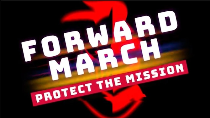 """Marching Forward with """"Forward March"""