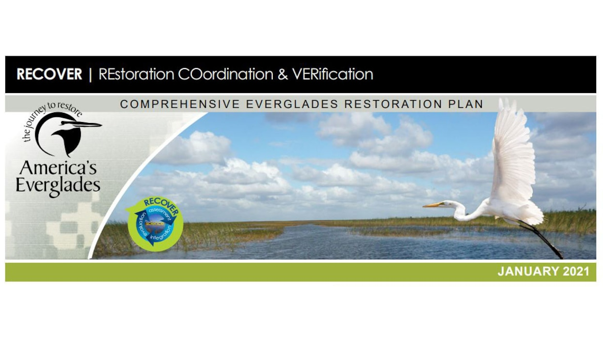 Image of RECOVER -  REstoration COordination and VERification Fact Sheet
