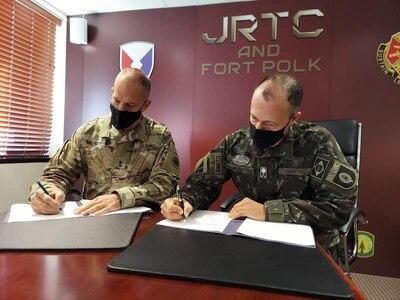 US, Brazilian Armies plan future training rotation