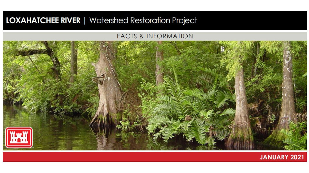 Image of Loxahatchee River Watershed Restoration Project Fact Sheet