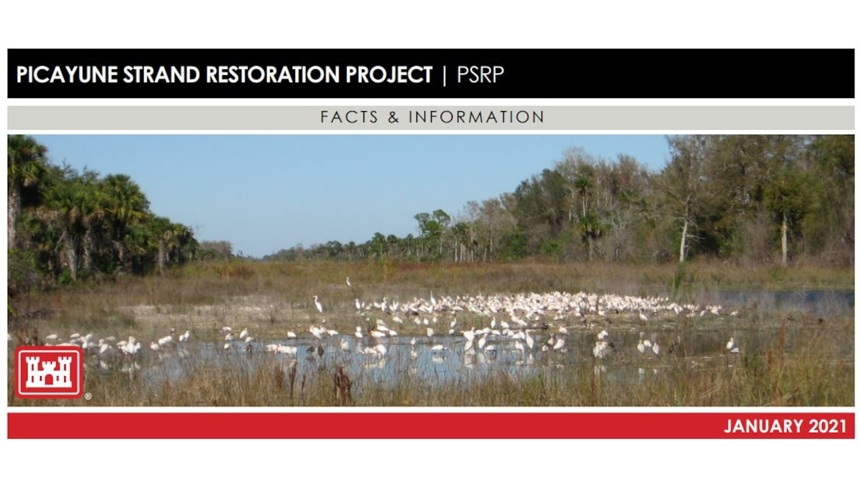 Image of Picayune Restoration Project (PSRP) Fact Sheet