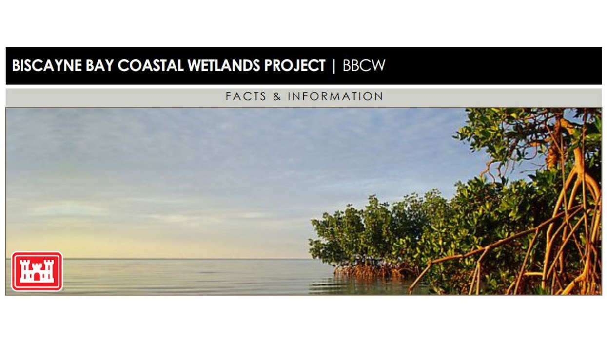 Image of Biscayne Bay Coastal Wetland Project (BBCW) Fact Sheet