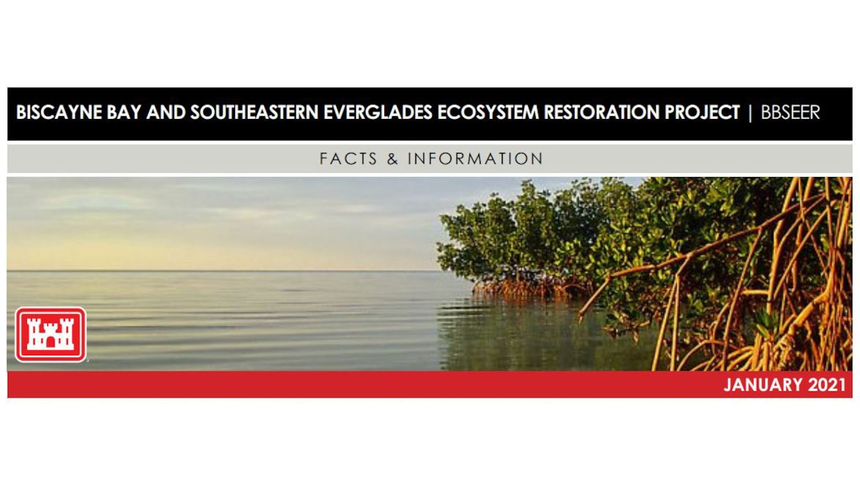 Image of Biscayne Bay and Southeastern Everglades Ecosystem Restoration Project (BBSEER) Fact Sheet
