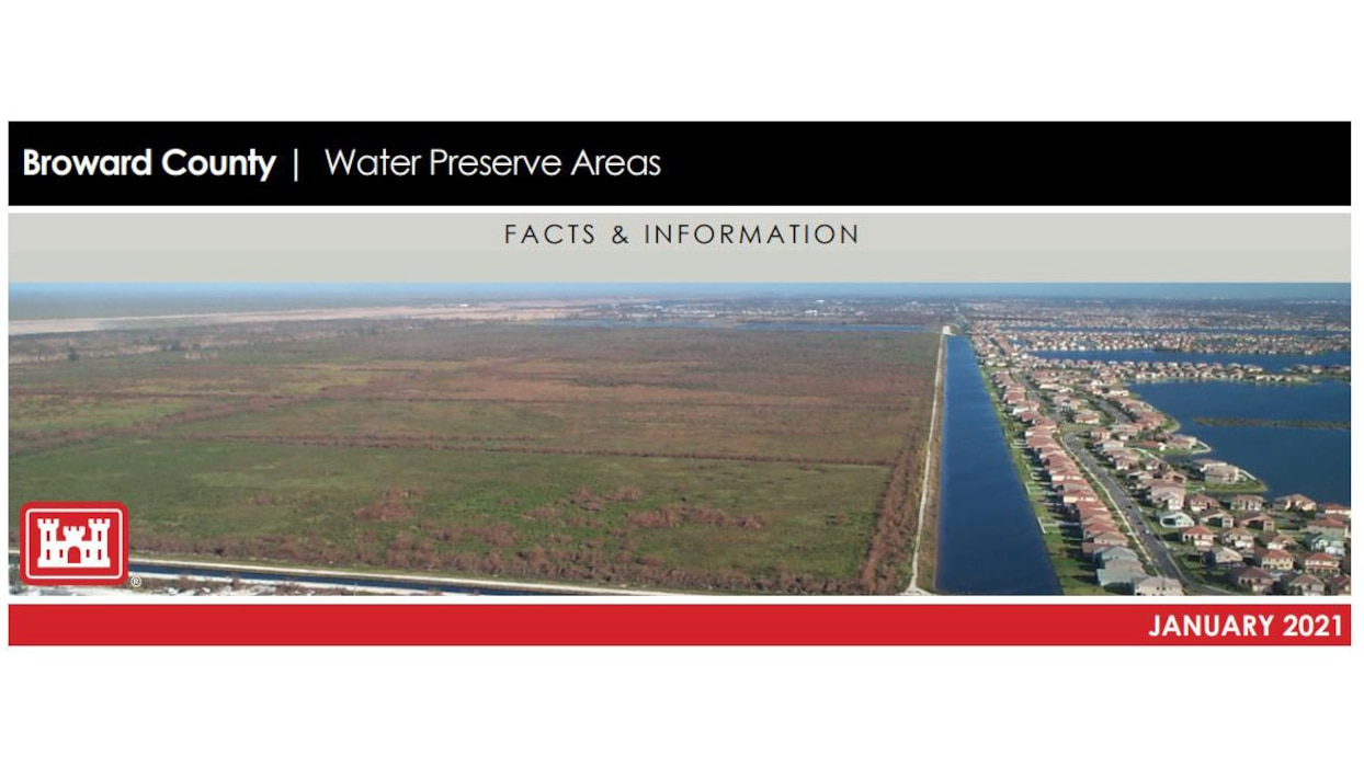 Image of Broward County Water Preserve Areas Fact Sheet