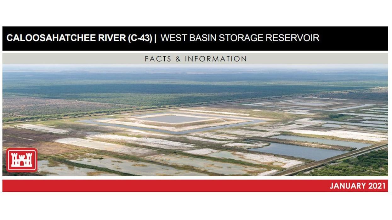 Image of Caloosahatchee River (C-43) West Basin Storage Reservoir Fact Sheet