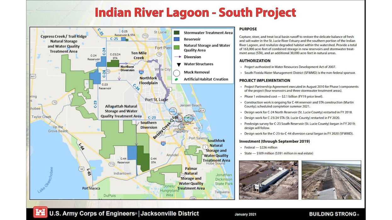 Image of Indian River Lagoon - South Project Placemat