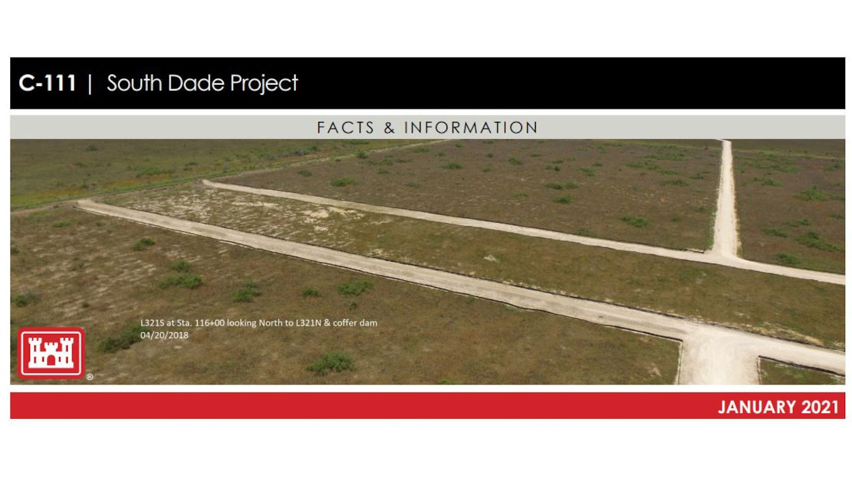 Image of C-111 South Dade Project Fact Sheet