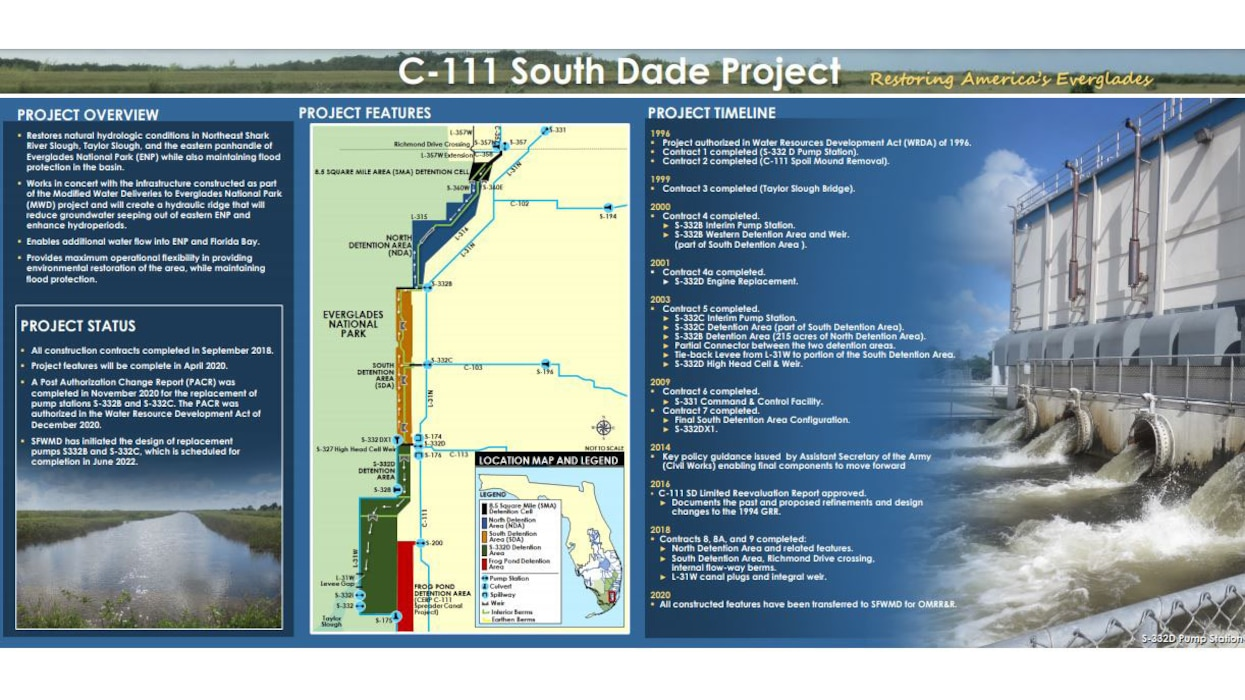 Image of C-111 South Dade Project Placemat