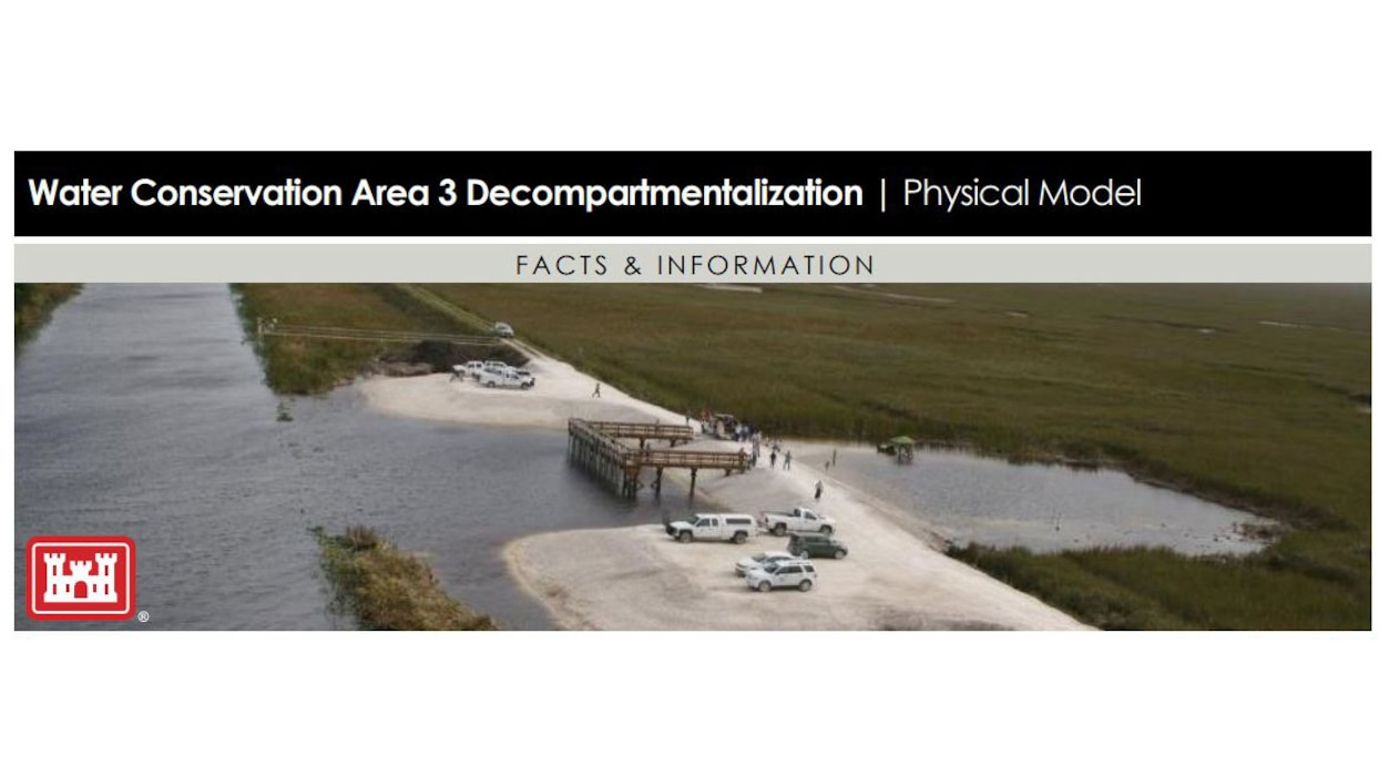 Image of Water Conservation Area 3 Decompartmentalization - Physical Model - DECOMP Fact Sheet