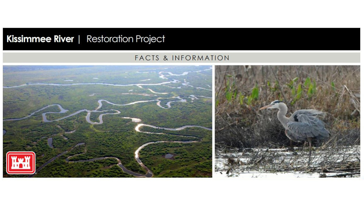 Image of Kissimmee River Restoration Project (KRR) Fact Sheet