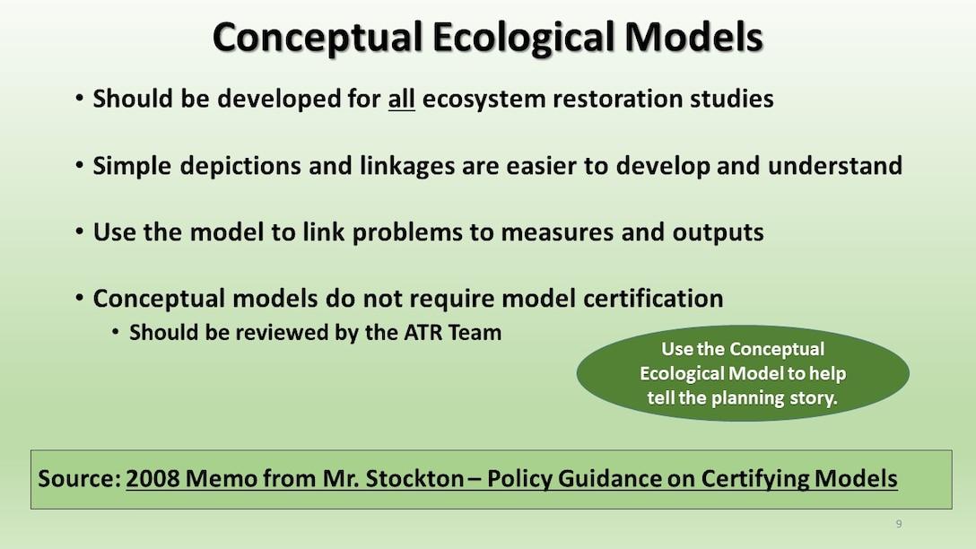 National Ecosystem Restoration Overview Slideshow