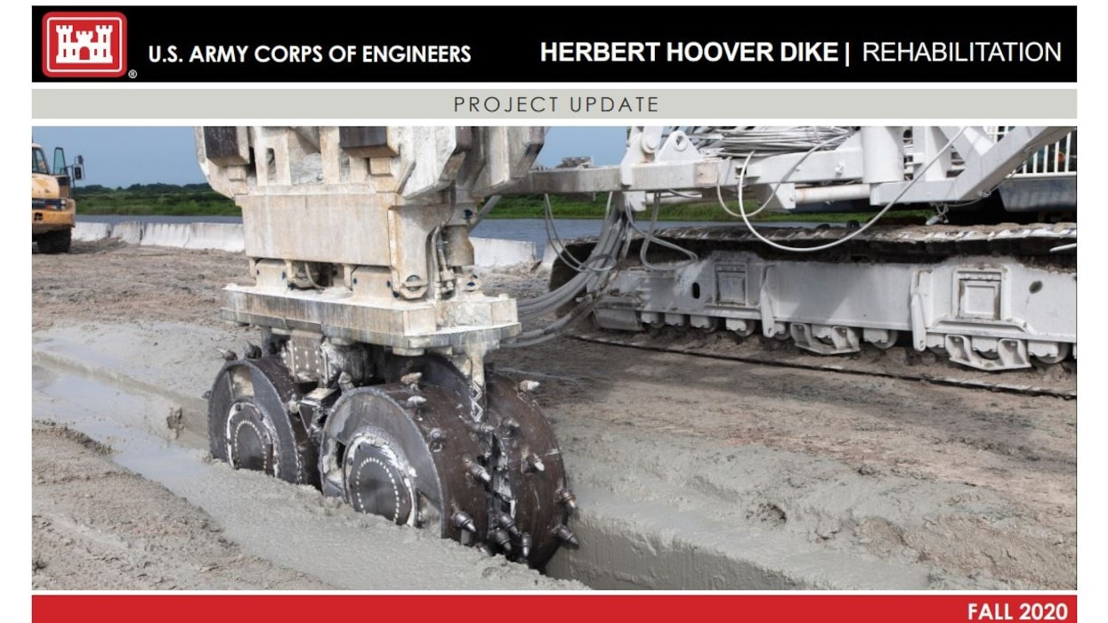 Image of Herbert Hoover Dike (HHD) Rehabilitation Project Fact Sheet
