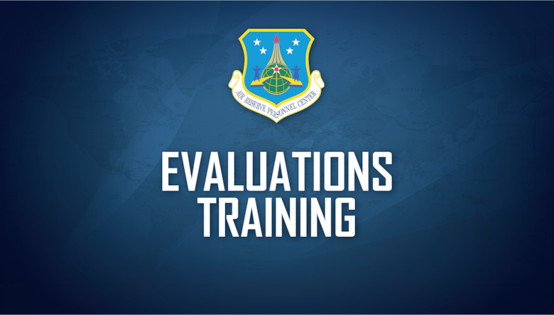 The Headquarters Air Reserve Personnel Center's Evaluations branch virtually delivered training to 332 fellow service members and civilian employees on Jan. 20, 2021.