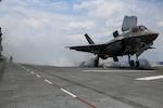 F-35B, OT-1 Flight deck