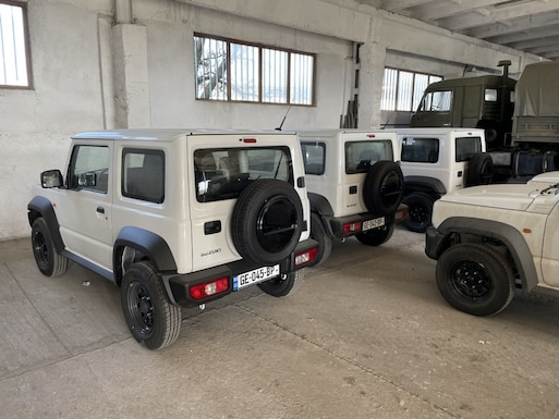 DTRA Donates Vehicles