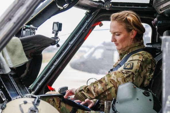 They say home is where your heart is. If this is the case, U.S. Army Capt. Irene Mallet, a UH-60 Black Hawk pilot with Alpha Company, 1-214th Aviation Battalion, has two homes…with good reason.